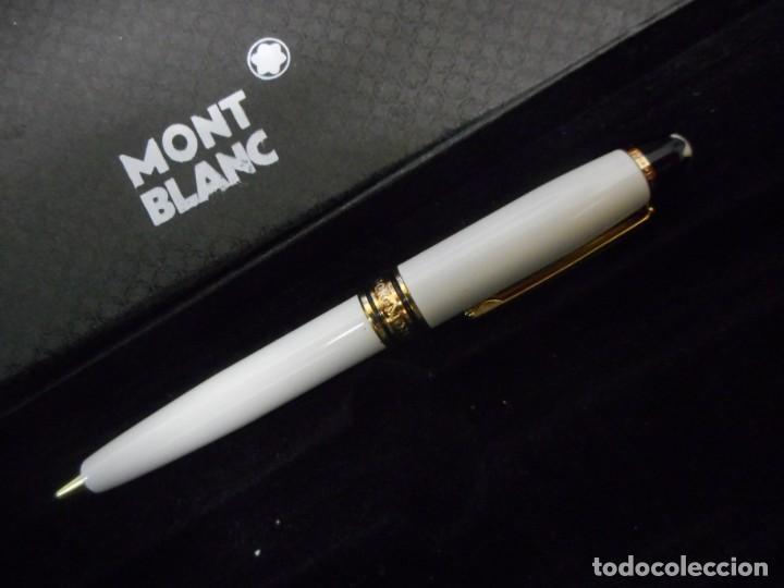 Bolígrafos antiguos: pequeño boligrafo montblanc meisterstuck - Foto 2 - 160948750