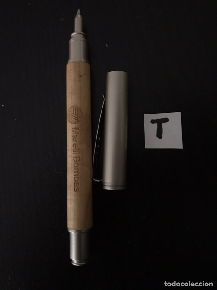 Bolígrafos antiguos: BOLÍGRAFO - MARELLI BOMBAS - Foto 2 - 163989812