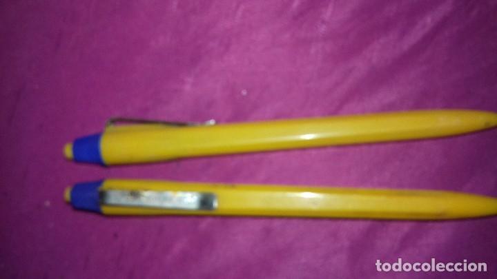 Bolígrafos antiguos: 2 antiguo boligrafo universal años 80.usado - Foto 2 - 165797626