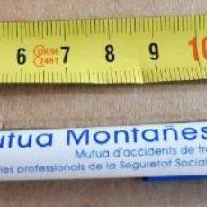 Bolígrafos antiguos - BOLÍGRAFO PUBLICITARIO - MUTUA MONTAÑESA - 165810786