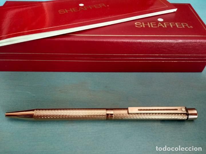 BOLÍGRAFO SHEAFFER MODELO 1009 CHAPADO EN ORO (Plumas Estilográficas, Bolígrafos y Plumillas - Bolígrafos)