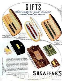 Bolígrafos antiguos: BOLÍGRAFO SHEAFFER MODELO 1009 CHAPADO EN ORO - Foto 2 - 199653235