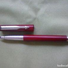 Bolígrafos antiguos: ROLLER PARKER VECTOR. COLOR BURDEOS.. Lote 169817752