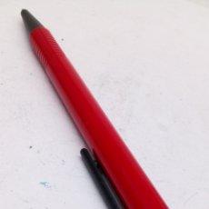 Bolígrafos antiguos: BOLÍGRAFO LAMY LACADO ROJO. Lote 171435003