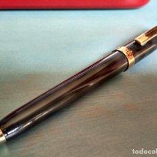 Bolígrafos antiguos: BOLÍGRAFO SHEAFFER PRELUDE LACADO EN GRIS Y NEGRO. Lote 172079618