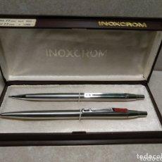 Bolígrafos antiguos: PRECIOSO BOLIGRAFO INOXCROM. Lote 172478079