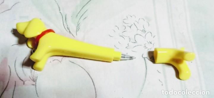 Bolígrafos antiguos: Perro salchicha bolígrafo. Importado de Japón. - Foto 2 - 173647053