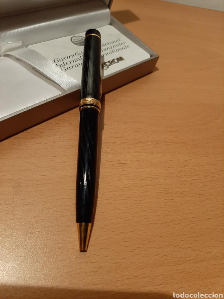Bolígrafos antiguos: Boligrafo Inoxcrom Andreas. - Foto 2 - 175225593