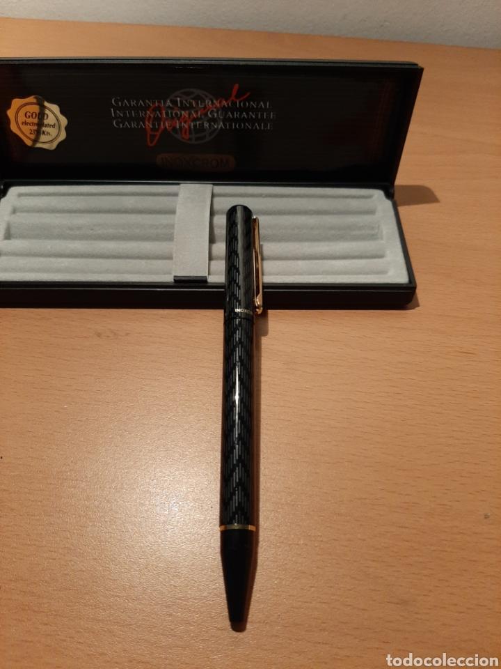 Bolígrafos antiguos: Boligrafo Inoxcrom - Foto 2 - 175394117