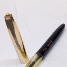 Bolígrafos antiguos: BOLÍGRAFO BIC CUERPO LACADO NEGRO ANTIGUO. Lote 175471553