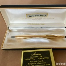 Bolígrafos antiguos: BOLIGRAFO CROSS CENTURY CLASSIC ORO 12KT CAJA ORIGINAL ESTUCHE. Lote 175862322