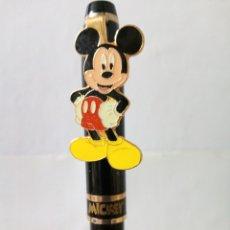Bolígrafos antiguos: BOLIGRAFO CON ESTUCHE MICKEY MOUSE.. Lote 176077645