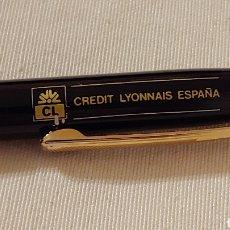 Bolígrafos antiguos: ANTIGUO BOLÍGRAFO PUBLICIDAD CL-CREDIT LYONNAIS ESPAÑA. Lote 177518848