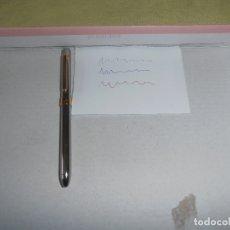 Bolígrafos antiguos: BOLIGRAFO MILAN - JAPAN - 4 EN 1 - EN PLATEADO Y DORADO. Lote 180025820