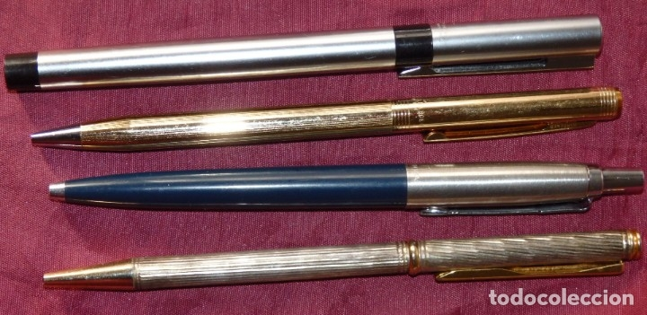 Bolígrafos antiguos: LOTE DE 14 BOLIGRAFOS Y ROTULADORES PARKER, SHEAFFER´S, WATERMAN , KAWECO, ANSON, INOXCROM... - Foto 5 - 117270023