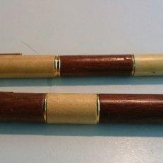 Bolígrafos antiguos: BOLIGRAFO Y PLUMA IRIDIUM POINT GERMANY. Lote 181101853