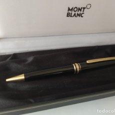 Bolígrafos antiguos: BOLÍGRAFO MONTBLANC MEISTERSTUCK-PIX GERMANY XH2401955 ORIGINAL. Lote 182280270