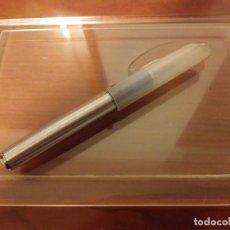 Bolígrafos antiguos: BOLÍGRAFO ROLLER INOXCROM FEVER - BLANCO. Lote 182643527
