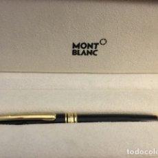 Bolígrafos antiguos: BOLÍGRAFO MONTBLANC MODELO MEISTERSTUCK CLASSIQUE. Lote 182799503