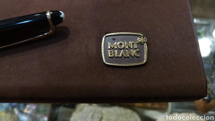 Bolígrafos antiguos: Montblanc Meisterstüsk Classique bolígrafo dorado - Foto 4 - 183195193