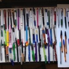 Bolígrafos antiguos: GRAN LOTE,,, COLECCIÓN DE BOLÍGRAFOS. Lote 183256747