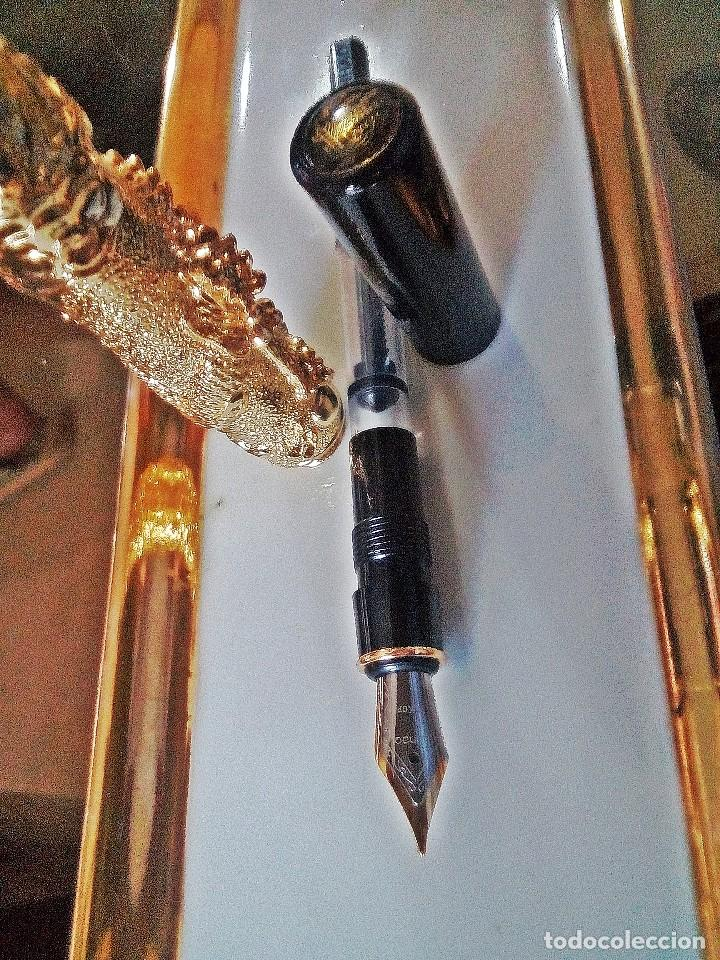 Bolígrafos antiguos: PLUMA COLECCION PALACIO IMPERIAL - Foto 3 - 183685080