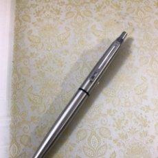 Bolígrafos antiguos: BOLÍGRAFO *** INOXCROM 55 COMO NUEVO. Lote 186323386