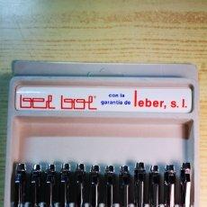 Bolígrafos antiguos: BOLÍGRAFO METALICO 4 COLORES BEL BOL FUNCIONA. Lote 187228603