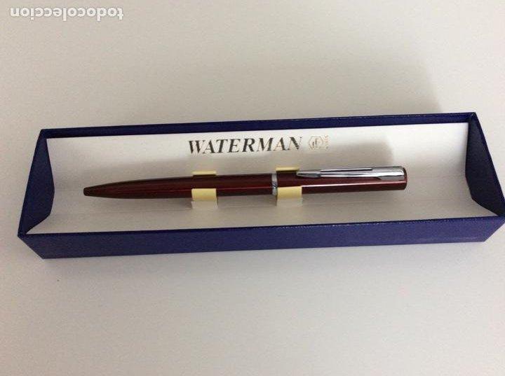 Bolígrafos antiguos: Bolígrafo waterman años 80. Sin usar - Foto 2 - 189714986