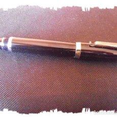 Bolígrafos antiguos: ROLLER NEGRO DE DISEÑO. (NUEVO). Lote 191165573