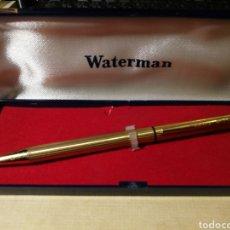 Bolígrafos antiguos: BOLÍGRAFO WATERMAN. FUNCIONANDO.. Lote 191731733