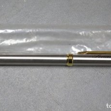 Bolígrafos antiguos: ANTIGUO BOLIGRAFO DEL SENADO. ESPAÑA. Lote 254699895
