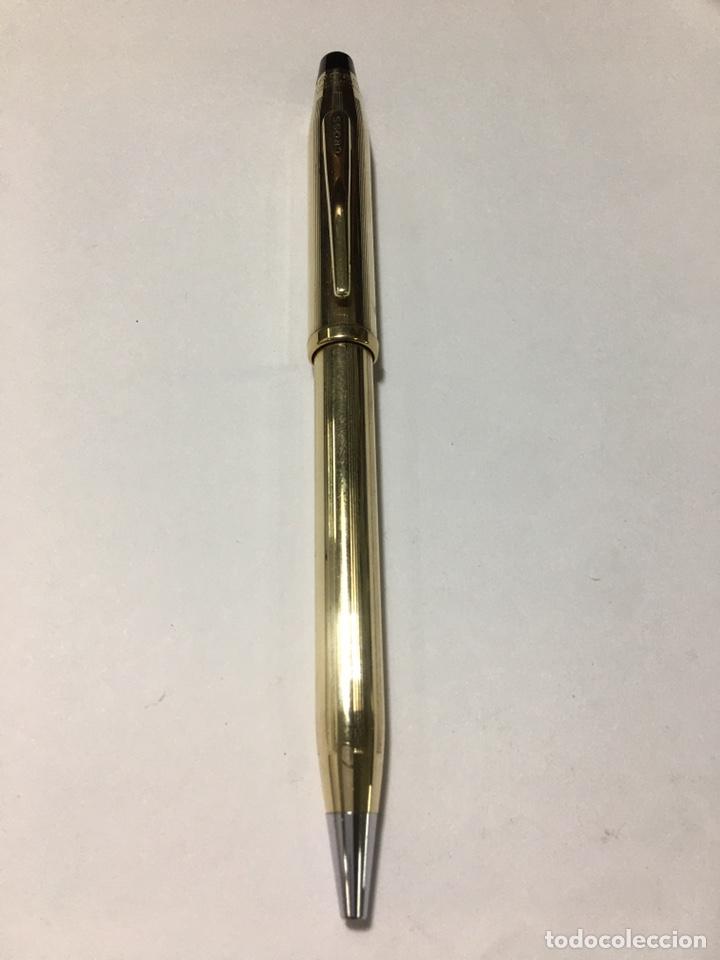 BOLÍGRAFO CENTURY II 10 KT GOLD FILLED NUEVO DEDICADO BANCAJA (Plumas Estilográficas, Bolígrafos y Plumillas - Bolígrafos)
