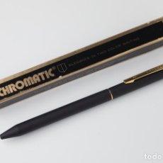 Bolígrafos antiguos: BOLIGRAFO CHROMATIC USA DE DOS COLORES. Lote 195216283