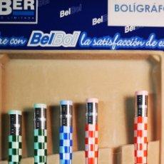 Bolígrafos antiguos: LEBER BELBOL BOLÍGRAFO A ESTRENAR. Lote 196019307