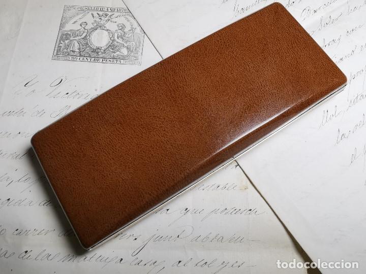 Bolígrafos antiguos: CONJUNTO DE BOLÍGRAFO Y PORTAMINAS SONICA IMPERIAL DE LUXE-ORO - Foto 20 - 197030705