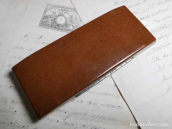 Bolígrafos antiguos: CONJUNTO DE BOLÍGRAFO Y PORTAMINAS SONICA IMPERIAL DE LUXE-ORO - Foto 21 - 197030705