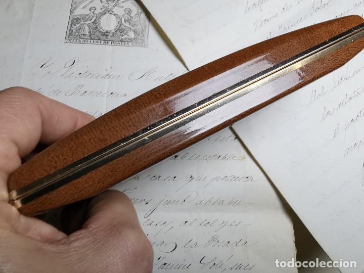Bolígrafos antiguos: CONJUNTO DE BOLÍGRAFO Y PORTAMINAS SONICA IMPERIAL DE LUXE-ORO - Foto 22 - 197030705
