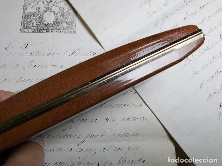 Bolígrafos antiguos: CONJUNTO DE BOLÍGRAFO Y PORTAMINAS SONICA IMPERIAL DE LUXE-ORO - Foto 23 - 197030705