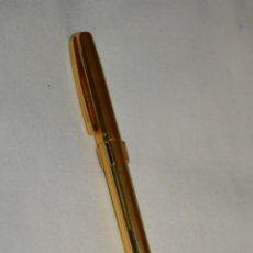 Bolígrafos antiguos: VINTAGE - WATERMAN QUATTRO -- BOLÍGRAFO DE 4 COLORES, EN BUEN ESTADO / CHAPADO EN ORO - ¡MIRA FOTOS!. Lote 197475252
