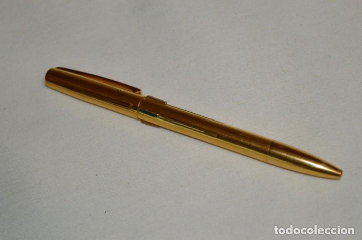 Bolígrafos antiguos: Vintage - Waterman Quattro -- Bolígrafo de 4 colores, en buen estado / Chapado en oro - ¡Mira fotos! - Foto 2 - 197475252