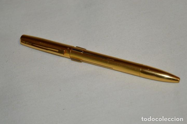 Bolígrafos antiguos: Vintage - Waterman Quattro -- Bolígrafo de 4 colores, en buen estado / Chapado en oro - ¡Mira fotos! - Foto 3 - 197475252