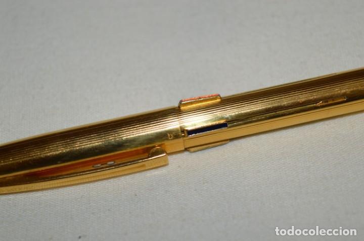 Bolígrafos antiguos: Vintage - Waterman Quattro -- Bolígrafo de 4 colores, en buen estado / Chapado en oro - ¡Mira fotos! - Foto 6 - 197475252