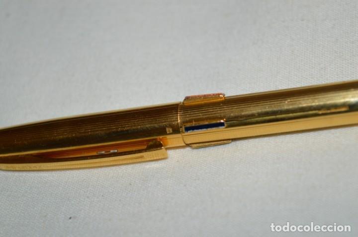 Bolígrafos antiguos: Vintage - Waterman Quattro -- Bolígrafo de 4 colores, en buen estado / Chapado en oro - ¡Mira fotos! - Foto 7 - 197475252