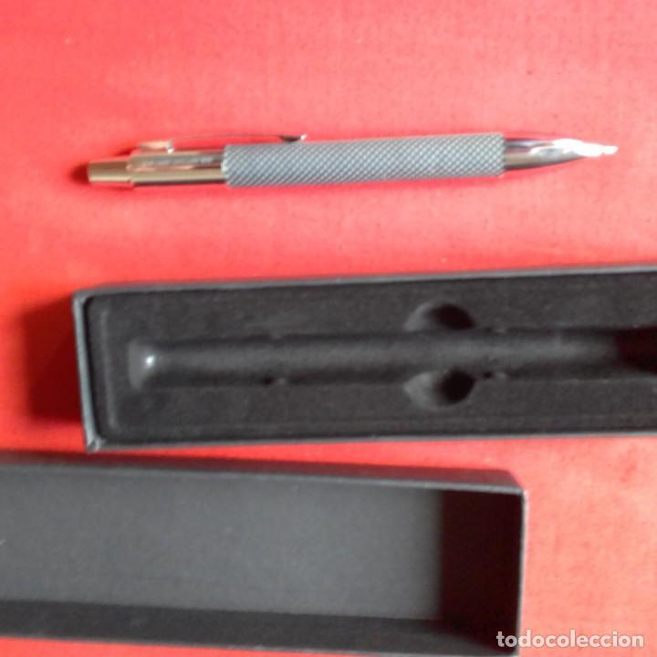 Bolígrafos antiguos: BOLIGRAFO ANTONIO MIRO CON LOGOTIPO EMPRESA BULL - Foto 3 - 203916862