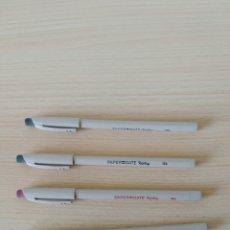Bolígrafos antiguos: LOTE 4 BOLÍGRAFOS PAPER MATE REPLAY USA. NUEVO VINTAGE. Lote 204283181