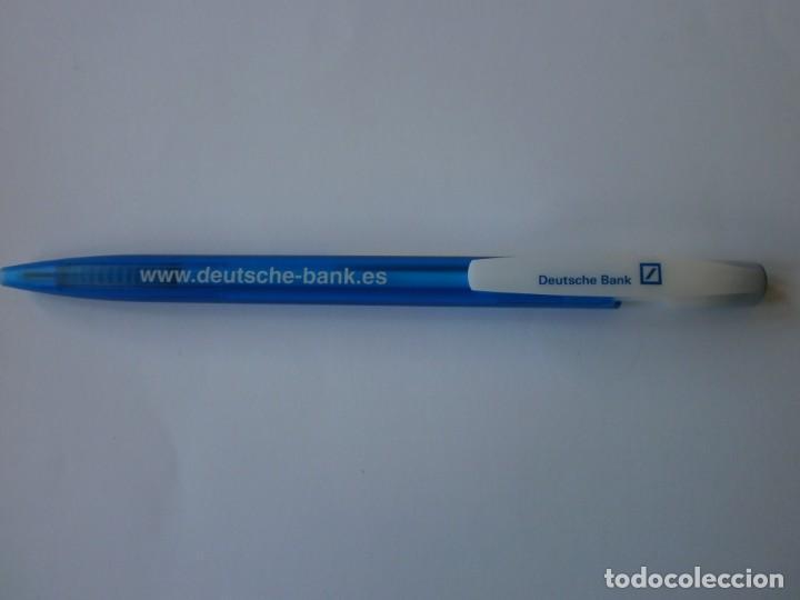 BOLIGRAFO DEUTSCHE BANK NUEVO (Plumas Estilográficas, Bolígrafos y Plumillas - Bolígrafos)