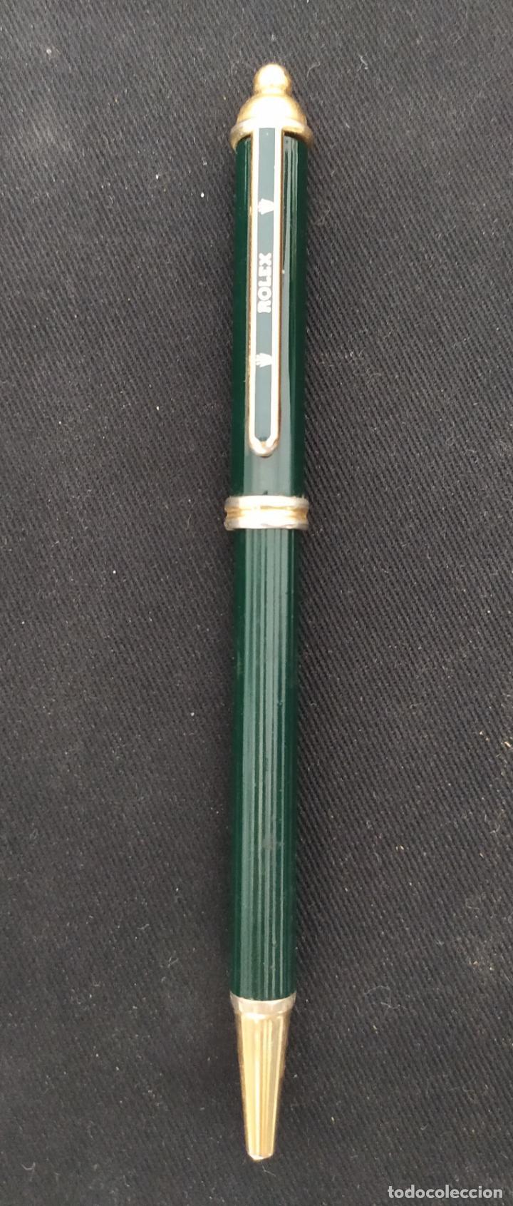 Bolígrafos antiguos: BOLIGRAFO ROLEX - Foto 2 - 205332616