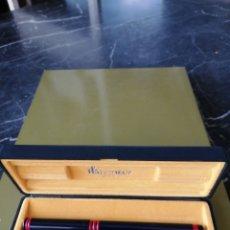 Bolígrafos antiguos: BOLÍGRAFO WATERMAN CON ESTUCHE ORIGINAL.. Lote 207001356
