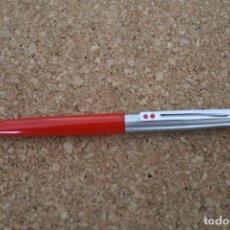 Bolígrafos antiguos: BOLIGRAFO INOXCROM 55 ROJO. Lote 207316241